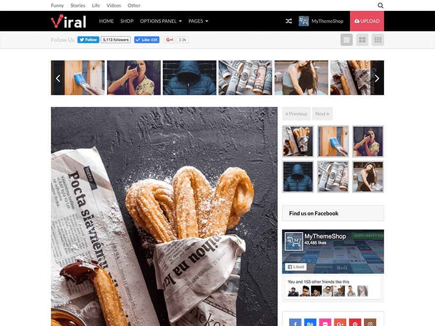 Viral by MyThemeShop WordPress ecommerce theme