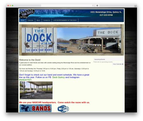 WP template Basik - thedockthatrocks.com