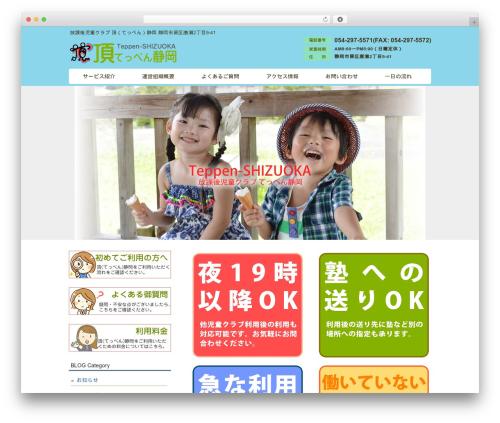 WP theme responsive_028 - teppen-shizuoka.com