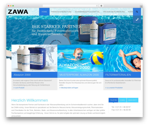Best WordPress theme Environmental - zawa.eu