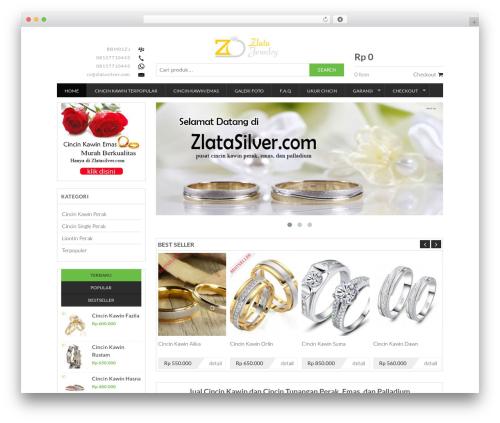 Best WordPress theme Sandal Jepit - zlatasilver.com