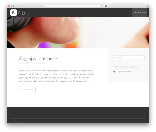 Business Leader WordPress template free download - zagraj.com