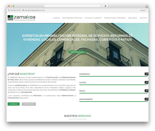 Focuson best WordPress theme - zamakoa.com