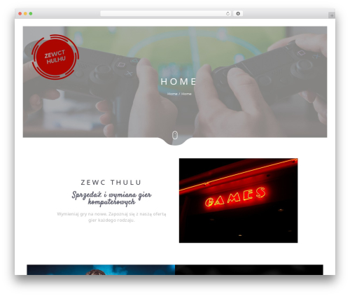 Narcos best WordPress video theme - zewcthulhu.pl