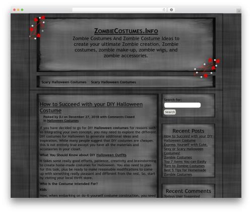 NoNa WordPress template free - zombiecostumes.info