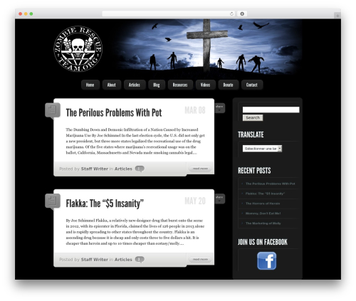 Theme WordPress LightBright - zombierescueteam.org