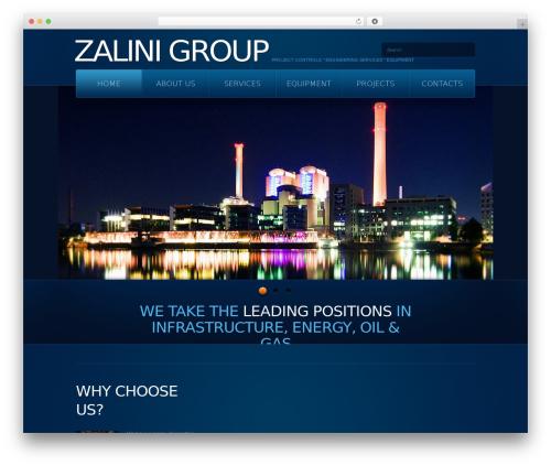 theme1866 WordPress theme design - zalinigroup.com