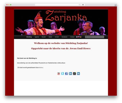 Twenty Eleven template WordPress free - zarjanka.com/?page_id=6