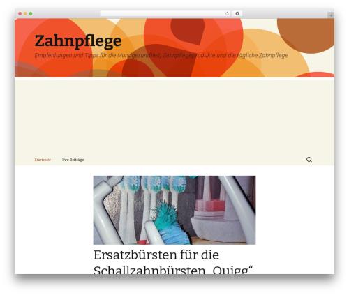 Free WordPress Breadcrumb Navigation for SEO with Microdata plugin - zahnpflege-blog.de