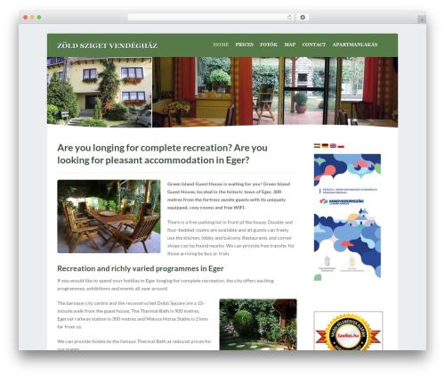 Waterside top WordPress theme - zoldsziget-eger.hu