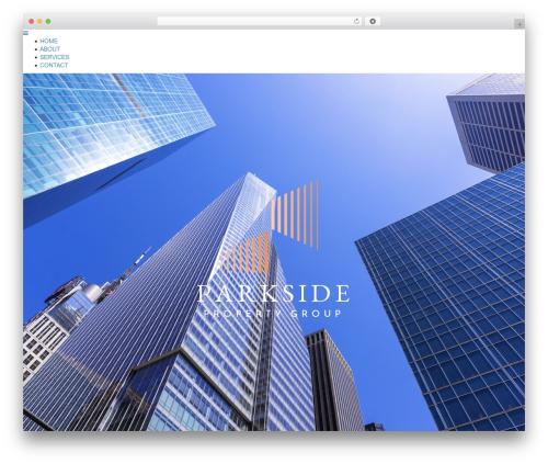 WP theme Architekt - parksidepropertygroup.com
