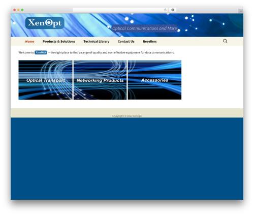 Best WordPress theme Twenty Thirteen - xenopt.com