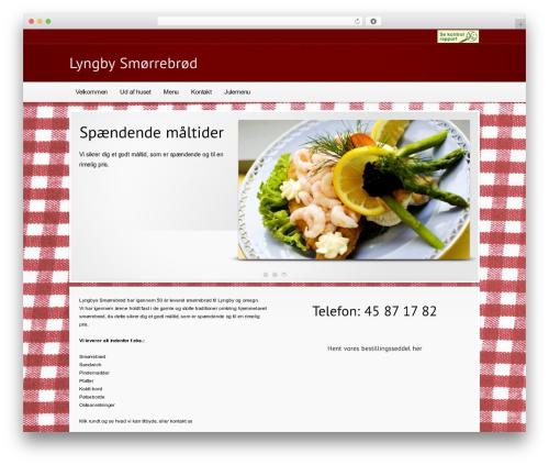 Modular best WordPress theme - xn--lyngby-smrrebrd-eubf.dk