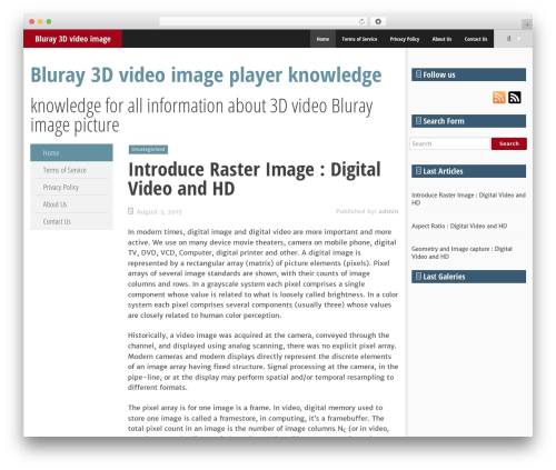 SmartAdapt WordPress video theme - 3d-blurayplayer.com