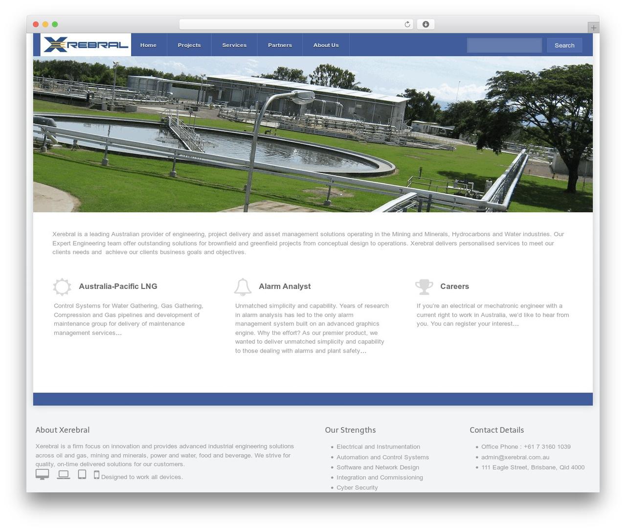 Theme WordPress Razor - xerebral.com.au