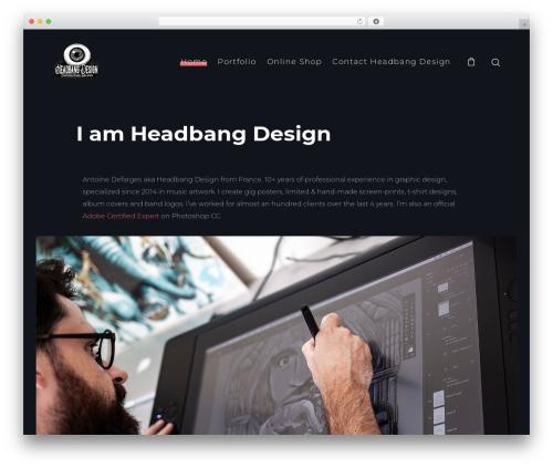 Theme WordPress SohoPRO - headbangdesign.com