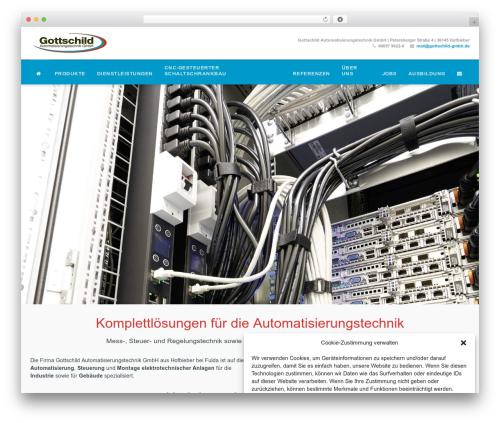 Wlad Framework WordPress theme - gottschild-gmbh.de