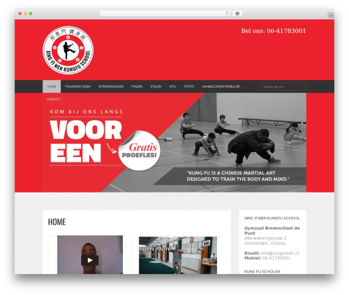 FITNESS-WP gym WordPress theme - xingyimen.nl
