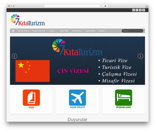 iFeature free WordPress theme - 7kitaturizm.com