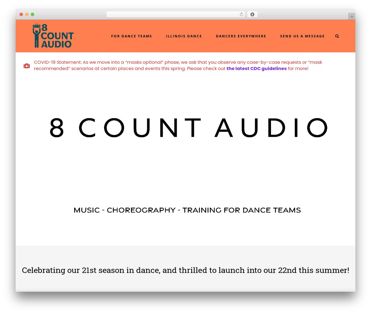Stockholm WordPress theme - 8countaudio.com