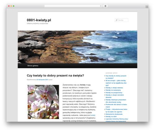 Twenty Eleven WordPress theme free download - 0801-kwiaty.pl