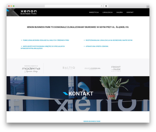 Omni theme WordPress - xenon-park.pl