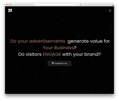 WordPress vcparticlesbackground plugin - oneofmypals.com
