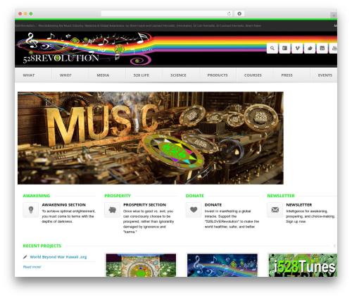 Output | Responsive Multi-Purpose WP Theme WordPress theme - 528revolution.com