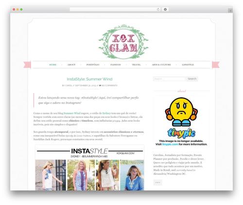 Sugar and Spice premium WordPress theme - xoxglam.com