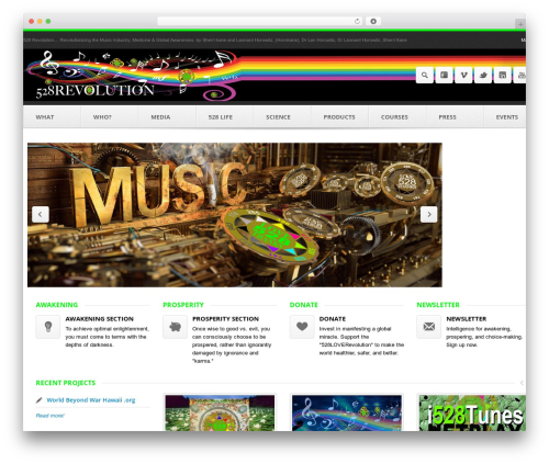 Theme WordPress Output | Responsive Multi-Purpose WP Theme - 528revolution.com