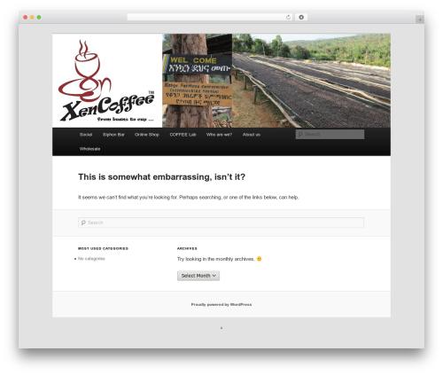 Twenty Eleven template WordPress free - xencoffee.com