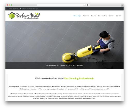 WordPress slider plugin - perfectmaid.com