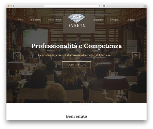 UNISCO theme WordPress - eventsorganizzazioni.com