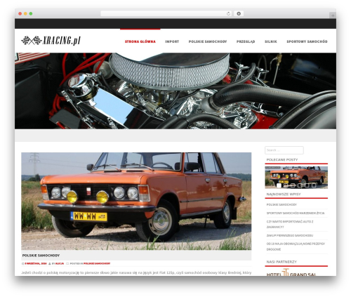 Formation free WP theme - xracing.pl