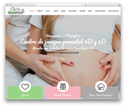 Magicreche WordPress theme - mamyeco.com