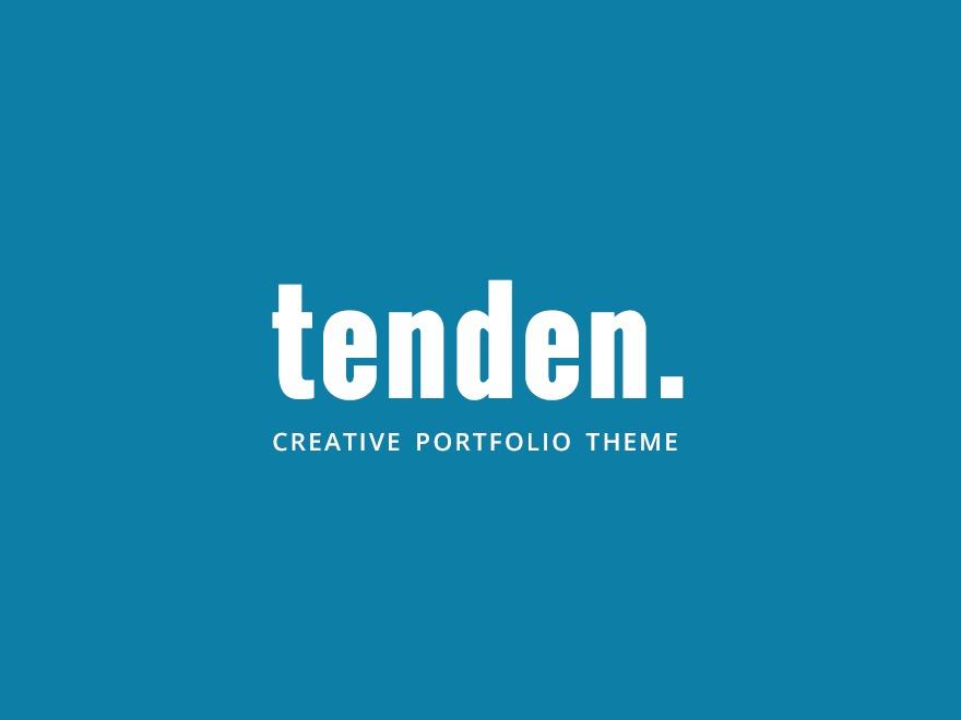 Tenden Child WordPress theme