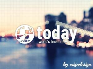 Today WordPress news template