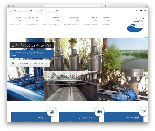 Arkitekt WordPress template - zharfab.com