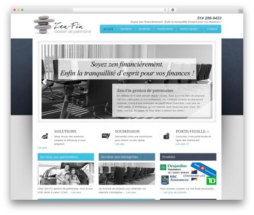 Best WordPress theme Associate Child Theme - zen-fin.com