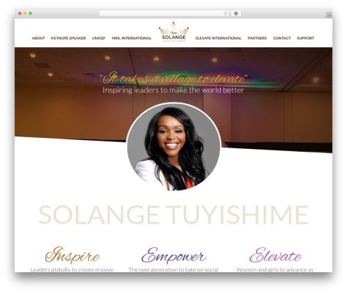Sydney free website theme - misssolange.com