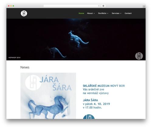 Template WordPress Divi - jarasara.com