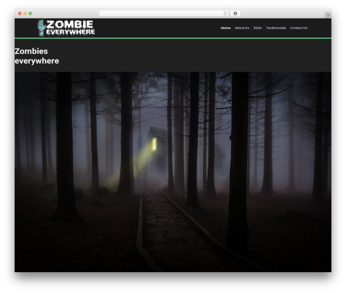 WP Bootstrap Starter theme WordPress free - zombieseverywhere.org