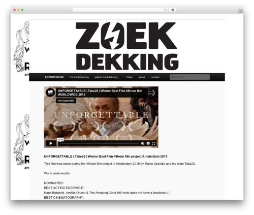 WP template Twenty Eleven - zoekdekking.org
