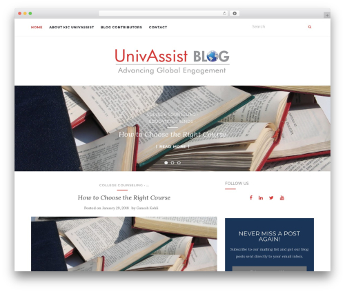 Activello WordPress theme free download - univassistblog.com