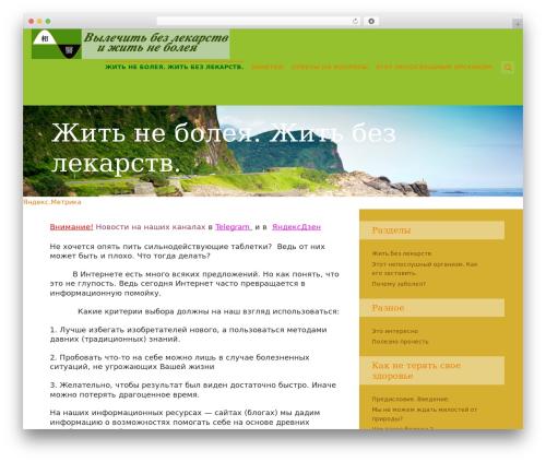 Best WordPress theme SeaShell - zhit-bez-lekarstv.ru