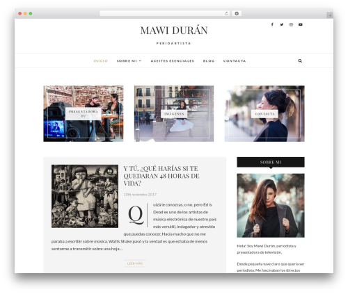 Edge WP theme - mawiduran.com