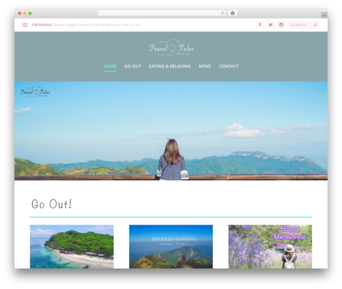 Extra theme WordPress - traveltalesthailand.com