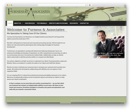 Formation theme WordPress free - furnesscpa.com