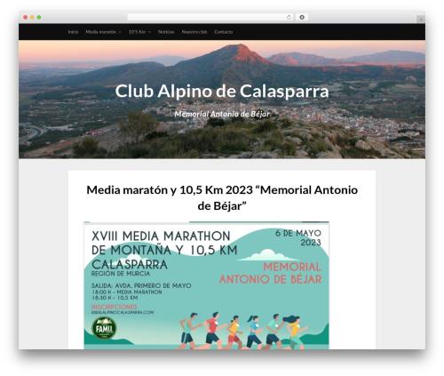 Fullwidther WordPress theme - alpinocalasparra.com