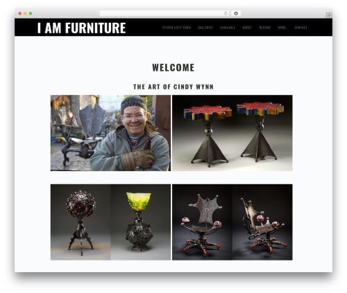 Genesis best WordPress template - iamfurniture.com
